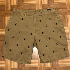 "Polo Ralph Lauren all over shorts (classic fit 9"")"